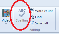 Spell Check in Windows Live Writer